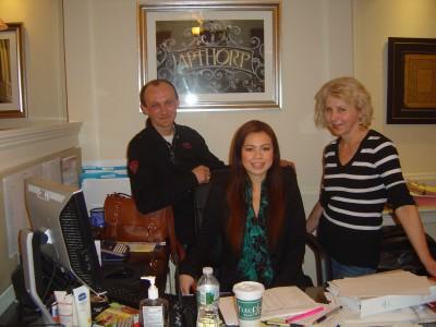 Richard, Halina, Trisha from Antrop Condominium