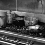 dirty restaurant kitchen