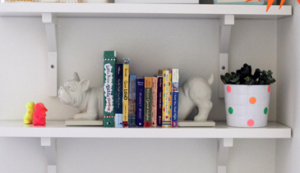 Add character simply with a few fun book additions!