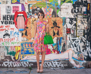 Florals and bright colors may still be the only thing cheery about a New Yorker.